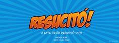 """A este Jesús resucitó Dios"" - Hechos 2:32a (Reina-Valera 1960). Portadas para Facebook - Facebook covers"