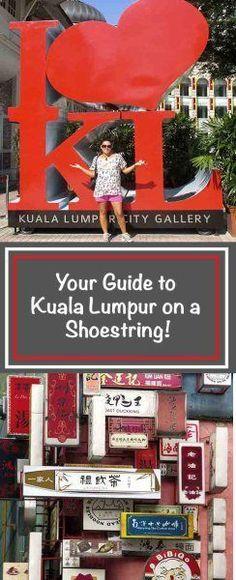 Kuala Lumpur on a Shoestring! Malaysia Travel, Asia Travel, Malaysia Trip, Travel Tourism, Malayan Emergency, Kuala Lumpur City, Lake Garden, Paradise Travel, City Gallery