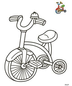 Coloriage Bebe Velo.20 Belles Images De Coloriages Voitures Coloring Pages Colouring
