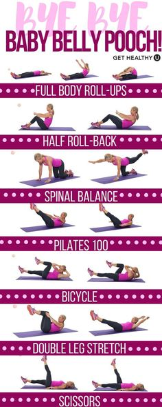 Time for mom to get strong! Blast away that baby belly pooch with these killer Pilates exercises that strengthen your core and tone your entire body. This is the perfect beginner workout to start with during nap time, to give you more energized and get your pre-baby body back!