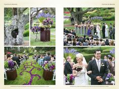 Caitlin and Miguel's gorgeous green wedding day. #bella vita events