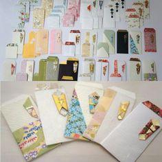 ご祝儀袋をリメイクしてポチ袋にしてみました(^^) #ご祝儀袋 #ご祝儀袋リメイク #ポチ袋 #結婚式 #手作り #和紙 #japan #envelope #Japanese_envelope