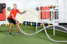 1. Standing Squat With Alternating Waves