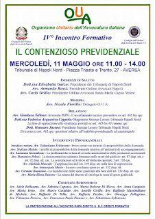 Studio Legale Buonomo (Na / Ce): Relazione avv. Buonomo Convegno 11/05 u.s.: La com...