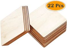 Amazon.com: wooden blanks for carving Wooden Calendar, Wooden Slices, Wood Cutouts, Wood Square, Unfinished Wood, Picture On Wood, Wood Pieces, Transfer Paper, Pyrography