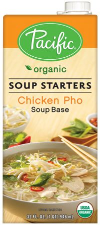 Organic Chicken Pho Soup Base. Pacific Foods have so many gluten free options. I order their cream of tomato soup by the case.