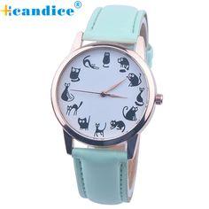$2.02 (Buy here: https://alitems.com/g/1e8d114494ebda23ff8b16525dc3e8/?i=5&ulp=https%3A%2F%2Fwww.aliexpress.com%2Fitem%2FNew-Cartoon-Watch-Women-Fashion-Casual-Watch-Little-Cat-Pattern-Wristwatch-Quartz-Dress-Watches-reloj-mujer%2F32669967320.html ) Lovely Cute Cat Pattern Watch Women Fashion Casual Watch Wristwatch Quartz Dress Watches reloj mujer Support Drop Shipping for just $2.02