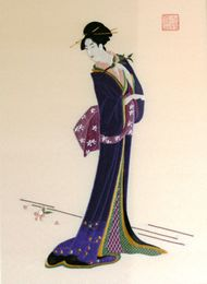 Japanese Silk Embroidery