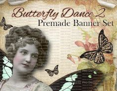 Premade Shop Banner Set  Premade Etsy Banner by LalipopsandDaisies, $20.00