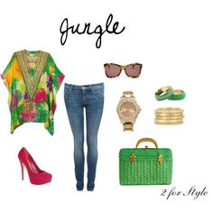 Jungle outfit! I luv this outfit, casual but really neat!