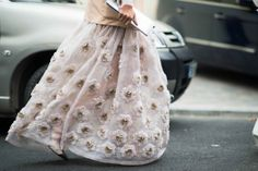 Street Style from Paris Fashion Week Spring 2014 Day 6