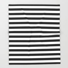 An elegant, modern monochrome horizontal black and white geometric striped…