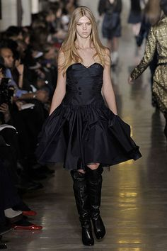 Jill Stuart Fall 2008 Ready-to-Wear Fashion Show - Anabela Belikova