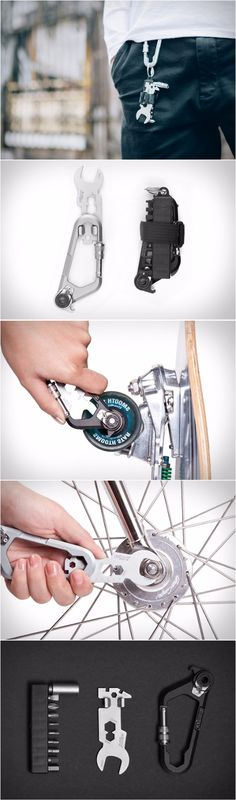 WOHO WOKit - Carabiner EDC Everyday Carry Multi-Tool
