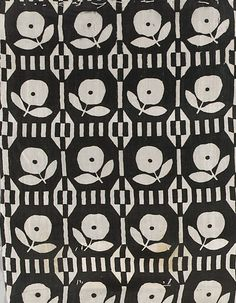 Textile by the Wiener Werkstätte, early 20th Century. (Austrian)