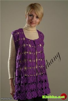 Purple top with diagram