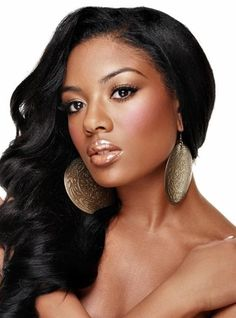 black hair - Click image to find more Hair & Beauty Pinterest pins