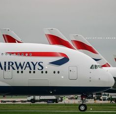British Airways Airbus A380-841