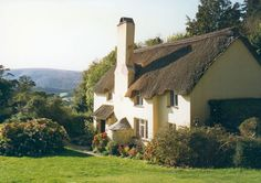 Cob and Thatch at Selworthy, near to Selworthy, Somerset, Great Britain