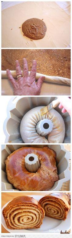Zobacz jak zrobić zakręcone ciasto...
