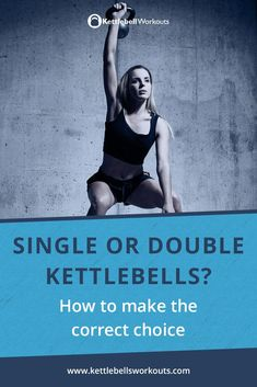 Discover when to use one kettlebell or two. Find out the benefits of single kettlebell vs double kettlebell training and how to progress your exercises. Kettlebell Workouts For Women, Kettlebell Clean, Hiit Abs, Kettlebell Challenge, Kettlebell Circuit, Kettlebell Training, Kettlebells, Second Best, Yoga For Men