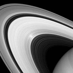 Although it may look to our eyes like other images of the rings, this infrared image of Saturn's rings was taken with a special filter that ...