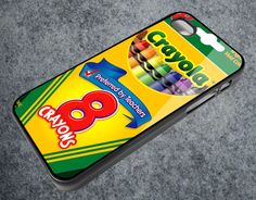 Crayola Crayon Box for IPhone Case Apple Phone iPhone 4 4S Case Cover AR_927