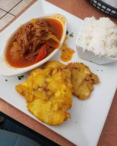 Can't leave Cuba without indulging in their national dish ropa Viejo with some tostones and rice. Little Havana, National Dish, Magic City, Sunshine State, Cuba, Miami, Wanderlust, Rice, Florida