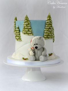 Sharing some Christmas Love Cake - Cake by CakeHeaven by Marlene