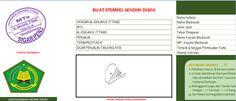 [.xls otomatis] Software Kartu Ujian Aplikasi Excel Free Download