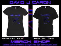 David J Caron Merchandise Design at Dizzyjam Design T Shirt, Shirt Designs, My Music, Lyrics, Album, T Shirts For Women, Band, Artwork