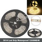 Waterproof 5M SMD 3014 LED Strip Fairy Light 600LEDs/5M Flexible DC 12V Lamp
