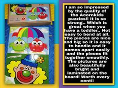 Another awesome review for Acornkids 👏 From a mom and teacher, the best quality puzzles I have ever come across. Thanks Albie for the review.   For the full product brochure which includes more puzzles as well contact me on: WhattsApp 079 377 9691 or visit www.acornkids.com/learningfun  Affiliate code: learningfun should you want to register as a customer or a dealer online 😉 xx 🌴 Acorn Kids, Product Brochure, Puzzles, Things To Come, Thankful, Coding, Teacher, Mom, Awesome