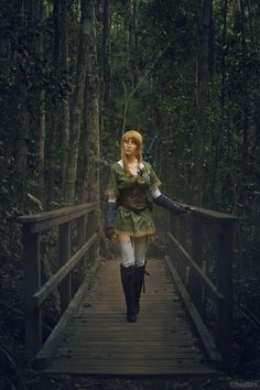 This Isn't Zelda, But It Is A Spectacular Female Link [Cosplay]