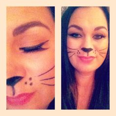 Cat makeup for Halloween #sephora