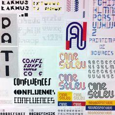 #BtsDG Bts Design Graphique, Typo, Bullet Journal, Instagram, Notebooks