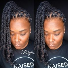 Double strand locs and high pony tail by Pstyles!!! #salon #colorist #cwkgirls #voiceofhair #loclivin #locnation #locjourney #locstyles #womenwithlocs #naturalista #naturalhaircare #locstyles #dmvlocs #dmvhairstylist #dmvlocstyles #loctician #travelingstylist #newyorklocs #atlantalocs #lalocs #styleseat