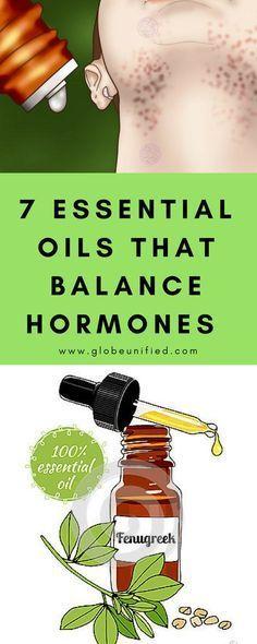 7 essential oils that balance hormones