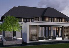 Villa T3 - interior | architecture | totaal concepten | interieur | tuinplan - Marco van Veldhuizen Villa, Caribbean Homes, Best Modern House Design, Charming House, Kerala House Design, Kerala Houses, Modern Cottage, House Blueprints, Facade House