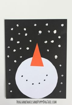 snowman and snow craft for kids Crafts Snowman Craft for Kids - FSPDT Snow Crafts, Xmas Crafts, Fun Crafts, January Art, January Crafts, December, Winter Art Projects, Winter Crafts For Kids, Craft Projects