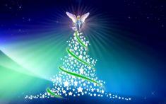 Merry Christmas Tree Angle Flying hd