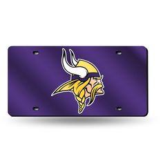 New! Minnesota Vikings Laser Cut License Plate Tag #MinnesotaVikings