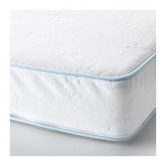 VYSSA SOMNAT Matelas pour lit bébé, blanc 60x120 cm blanc