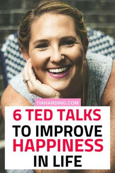 TED Talks To Improve Happiness 6 TED talks to inspire you and increase your happiness. The true secrets to happiness are revealed in these 6 TED videos. Self Development, Personal Development, Ted Talks Video, Ted Videos, Affirmations, Detox Kur, Anxiety Tips, Self Improvement Tips, Good Habits
