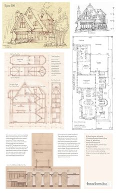This one is a courtyard design with master suite in back. Styling based on Tudor homes in U.S. Interior features a spectacular timber frame trussed open vaulted dining area, open to third floor, ti...