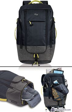 Solo backpack with shoe compartment - Best work to gym bags