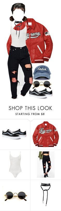 """""""Untitled #138"""" by rich-princesa ❤ liked on Polyvore featuring Vans, WearAll, Boohoo and Lamoda"""