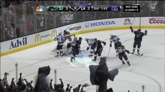 L.A. Kings vs SJ Sharks. 5/16/13 round 2 game 2 BEST comeback EVER<----and the best time ever!!!