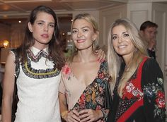 Charlotte Casiraghi attended the closing party of LGCT | NEWMYROYALS & HOLLYWOOD FASHION