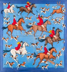 get thumbs oscxscxn fly. Bandana Design, Vintage Horse, Hermes Paris, Like Animals, Animal Paintings, Fantasy Creatures, Wearable Art, Printing On Fabric, Textiles